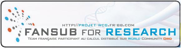 Forum de la team Fansub for Research