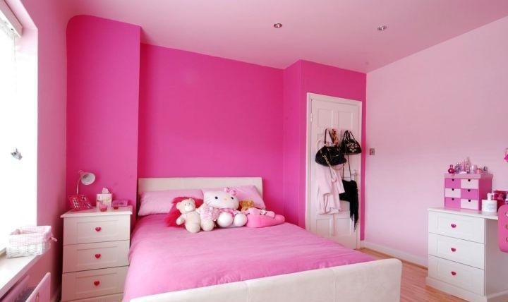 chambre des filles. Black Bedroom Furniture Sets. Home Design Ideas