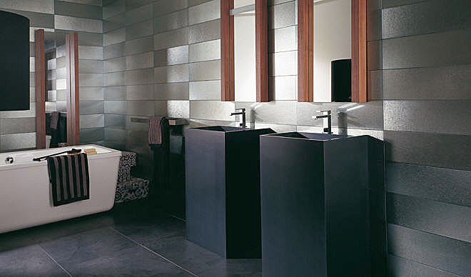 photos de salle de bains design. Black Bedroom Furniture Sets. Home Design Ideas
