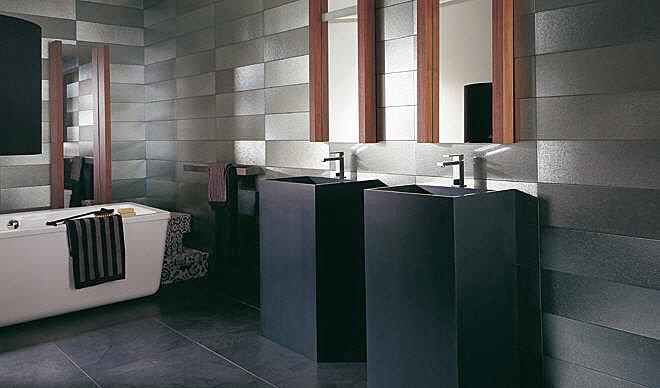 Photos de salle de bains design for Salle de bain 5m2 avec baignoire
