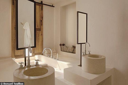 Photos de salle de bains zen nature for Salle bain marocaine