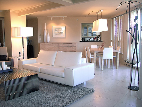 id e peinture salon s jour sol gris clair. Black Bedroom Furniture Sets. Home Design Ideas