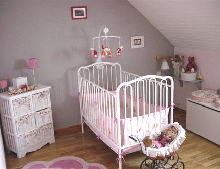 inspiration deco chambre vieux rose et gris t photos de chambre d enfants ado - Chambre Vieux Rose Et Gris