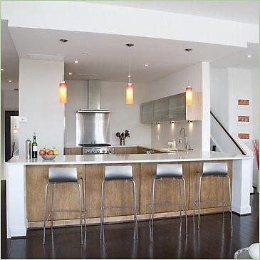 Photos de cuisine design for Modele de bar pour maison