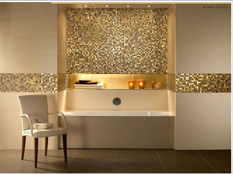 mosaique de salle de bain. Black Bedroom Furniture Sets. Home Design Ideas
