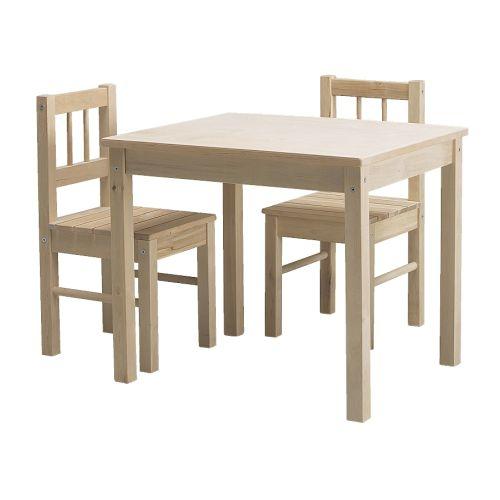 Chaises pour enfant svala ikea for Table enfant ikea