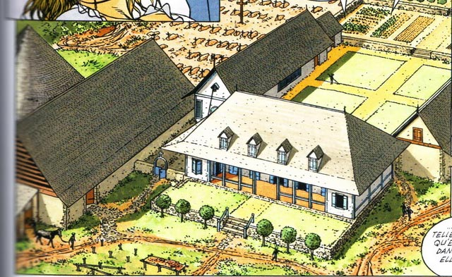 Habitations dans les colonies - Plan maison de maitre ...