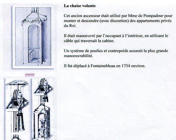 Appartement de la marquise de pompadour versailles page 1 for Chaise volante