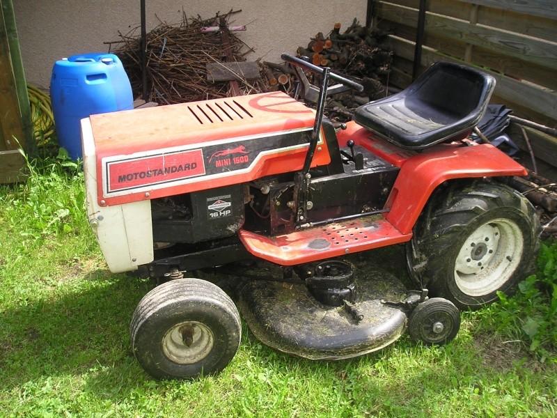 Vend motostandard mini 1500 - Mini tracteur tondeuse ...