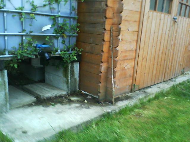 Abri de jardin et... Infiltration d\'eau... - Communauté ...