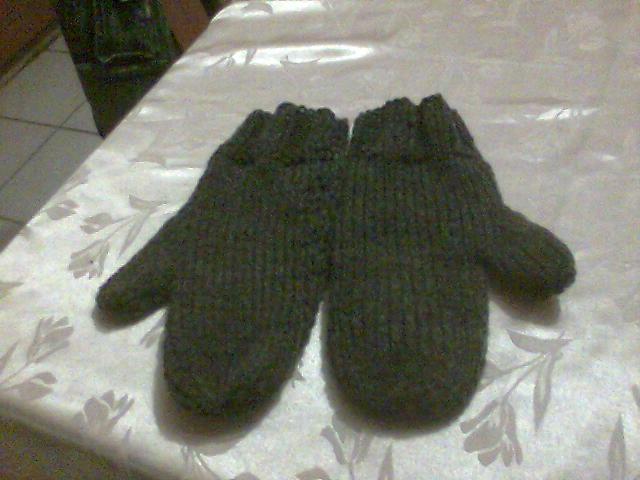DIY. Comment tricoter des gants avec deux aiguilles!!  YouTube