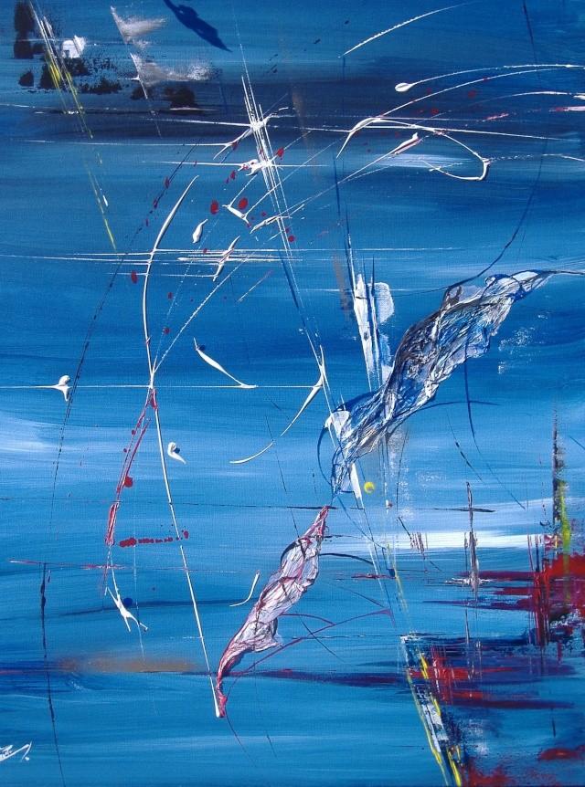 Altaïr, ou l'envol de l'aigle dans Acryliques sur toile 131_al10