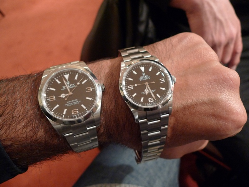 Rolex Oyster Perpetual 39mm Lume