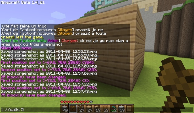 Minecraft Comment Changer Les Block D Un Build Avec Le World