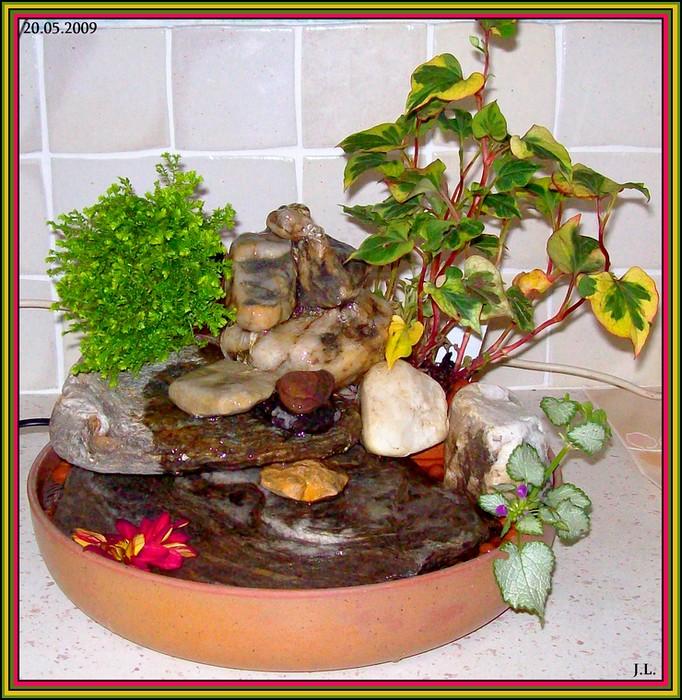 ma fontaine zen avec cascade fabrication maison bric a brac