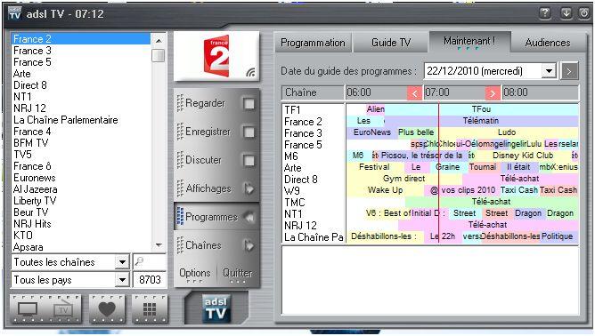 télévision par ordinateur sfr