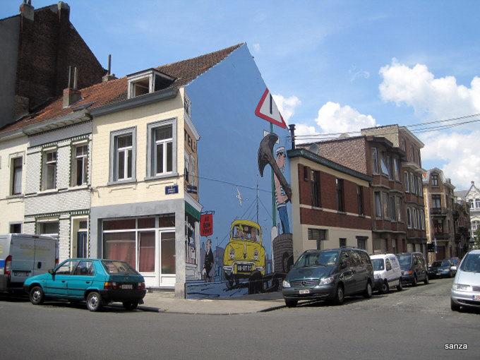 Les parcours bd de bruxelles laeken et anvers page 4 for Auderghem maison communale