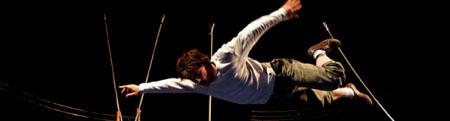 forum citoyen frontignan, cirque contemporain du collectif AOC à la peyrade