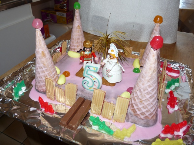 Gateau tortue ch teau de princesse page 5 for Image chateau princesse