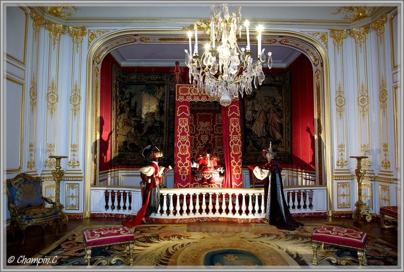Ch teaux de la loire for Chateau de versailles interieur