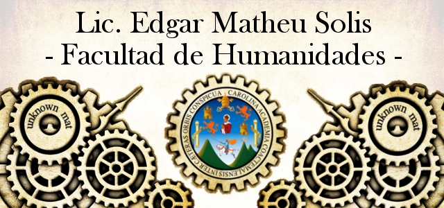 EDGAR MATHEU SOLIS - USAC-HUMANIDADES