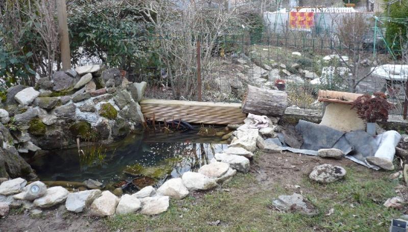 Nature bassin la mare et le bassin de jardin naturel for Bache epdm blanche