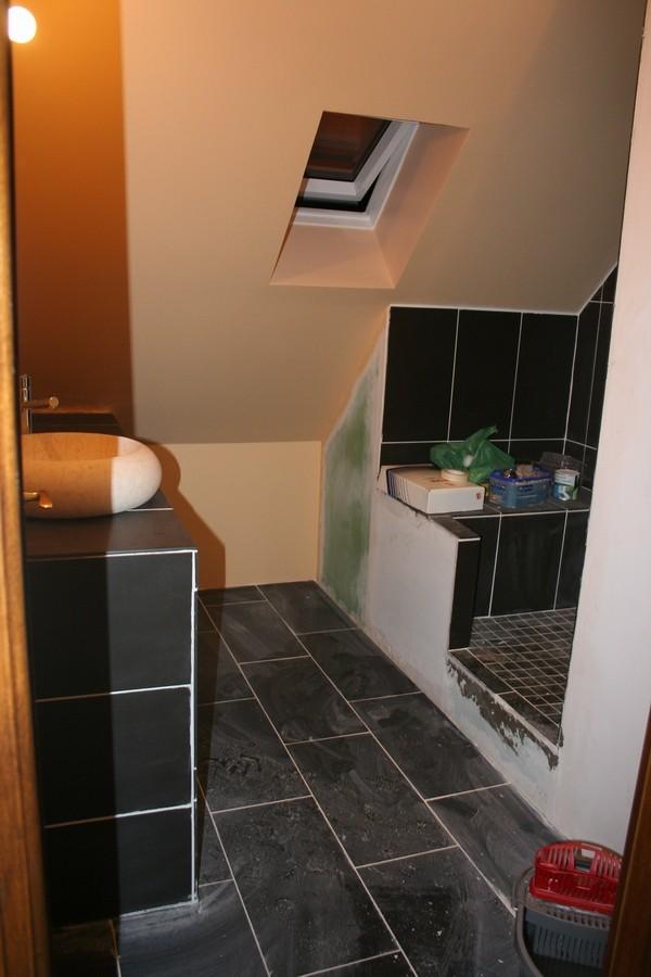 Quelle couleur pour la salle de bain photos de for Quelle couleur de peinture pour la maison
