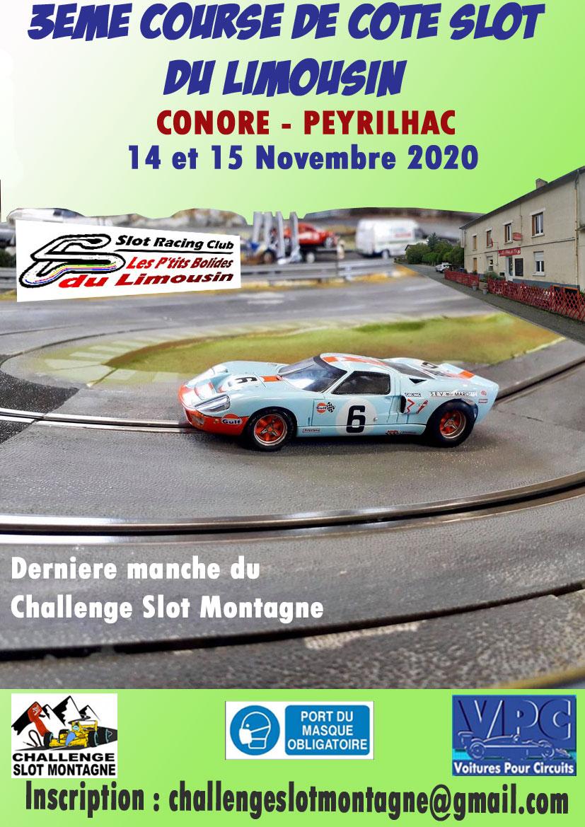 Dernière manche 2020 à Conore Peyrilhac en Limousin dans Saison 2020 affich16