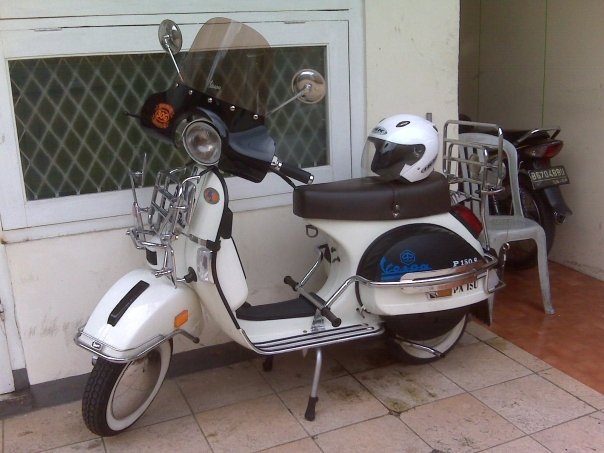 Photo Modifikasi Vespa Excel