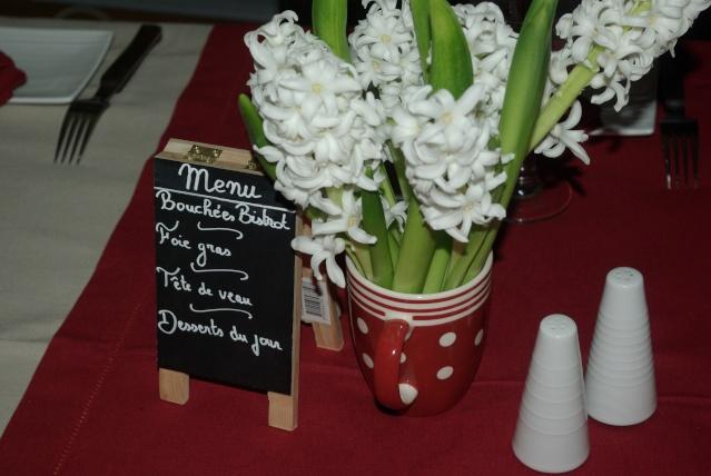Decoration De Table Menu Rouge : Mes centres de table balade gourmande c� cile