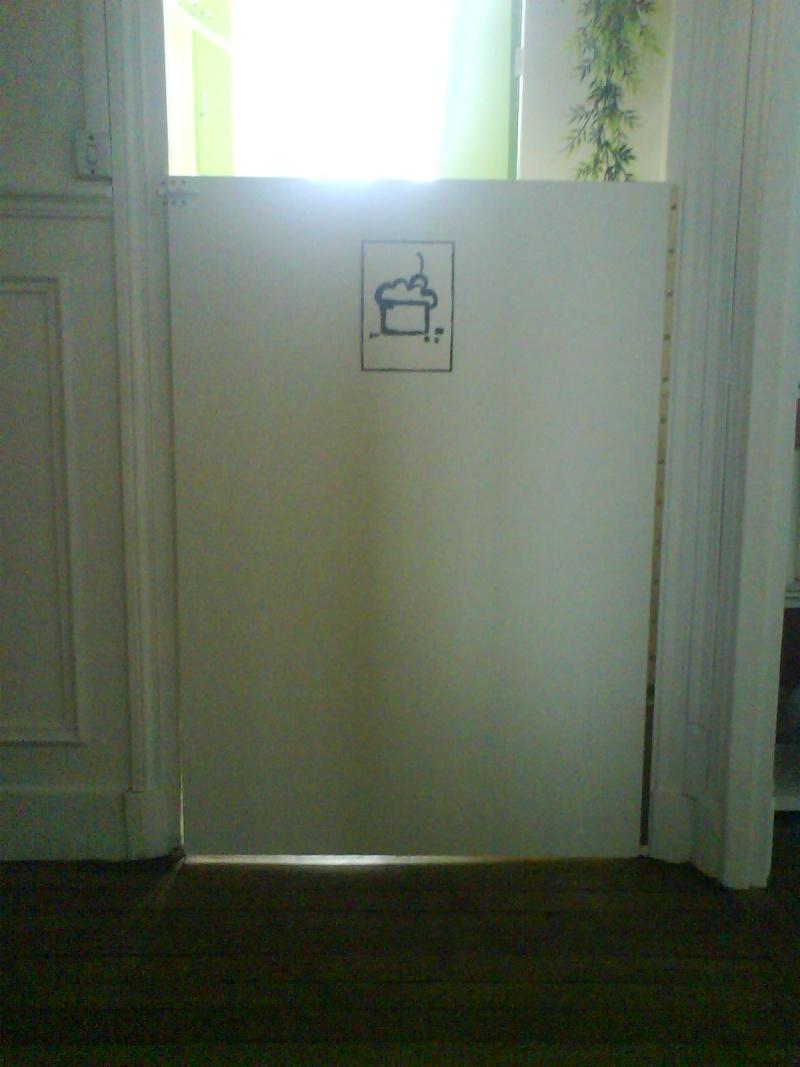 barriere pour chat porte c ble lectrique cuisini re vitroc ramique. Black Bedroom Furniture Sets. Home Design Ideas