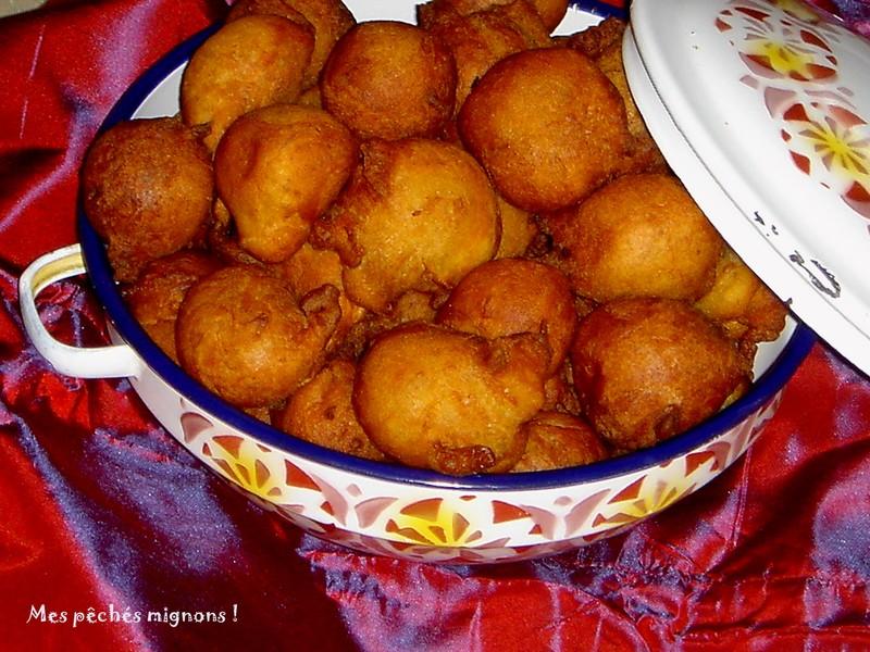 Les beignets mikates - Recette beignet facile avec levure de boulanger ...