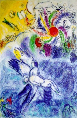 Marc chagall for Chagall tableau