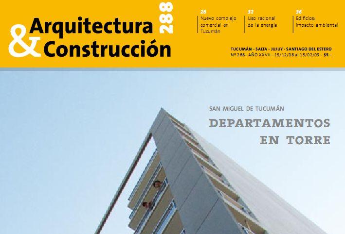 Revista arquitectura y construccion 288 notas y precios de for Paginas de construccion y arquitectura