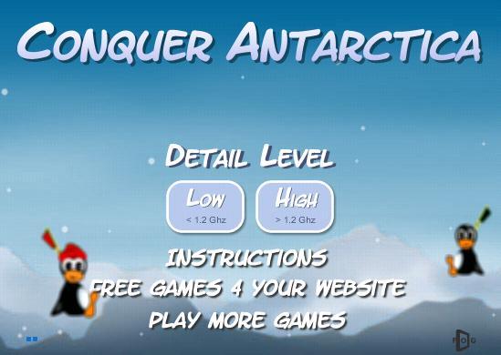 Hra Antarktída