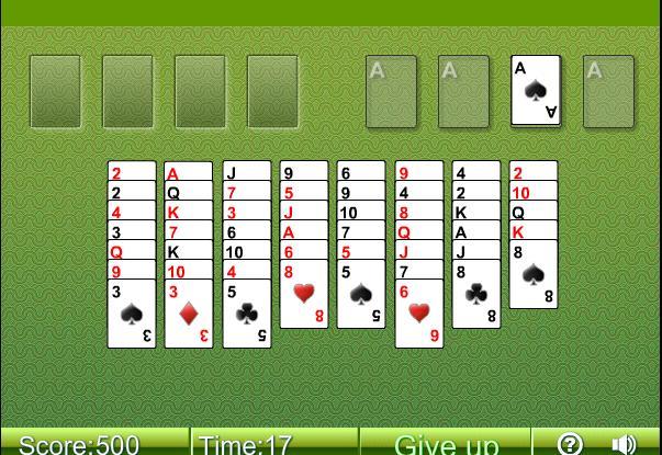 FreeCell - kartová hra