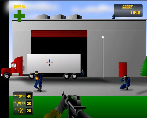 Hra Odstrelovač