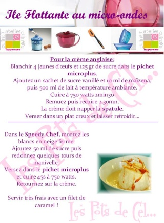 Tupperware dessert on pinterest tupperware chefs and flan - Cuisiner avec tupperware ...
