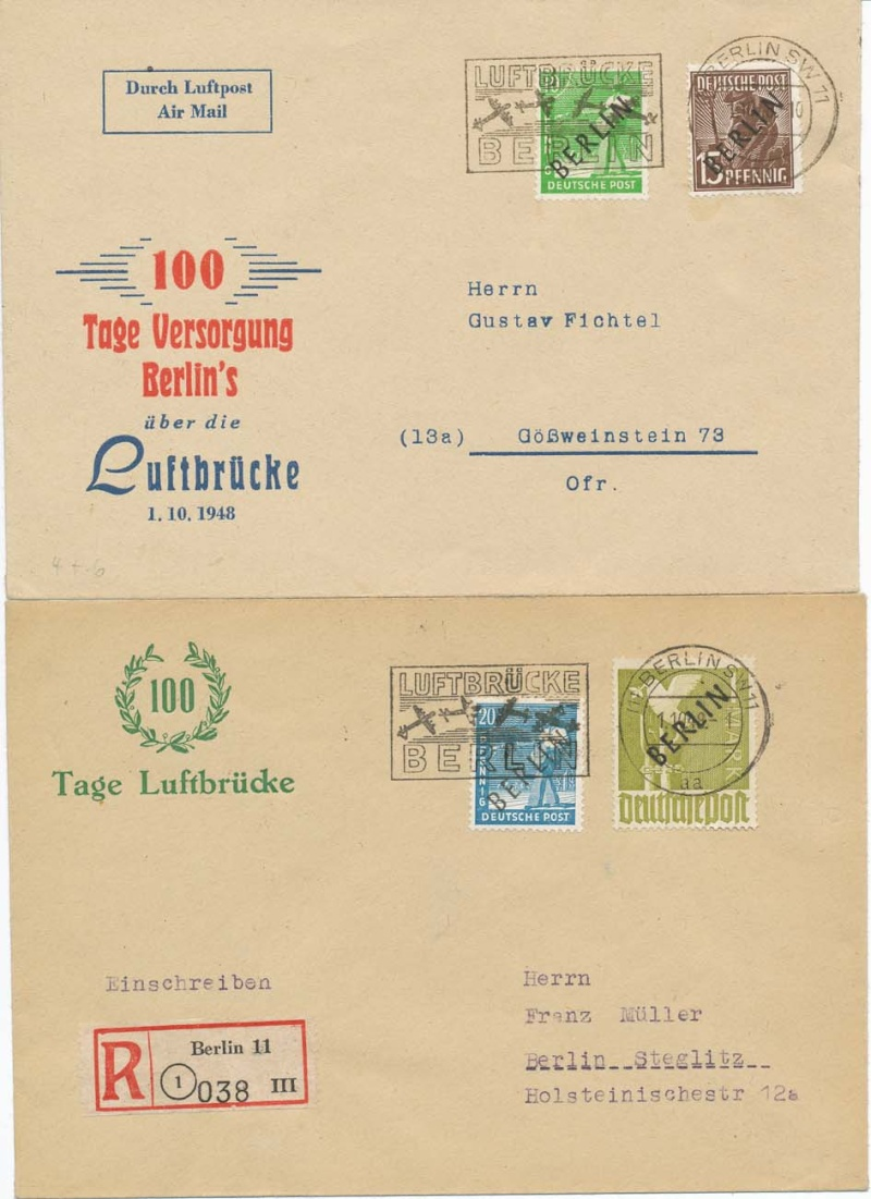 luftpost deutsche post