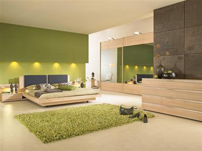 Besoin de vos id es pour faire les chambres - Chambre couleur vert et marron ...