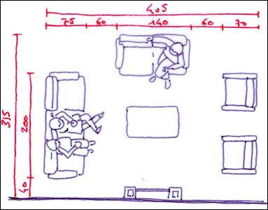 comment organiser son salon. Black Bedroom Furniture Sets. Home Design Ideas