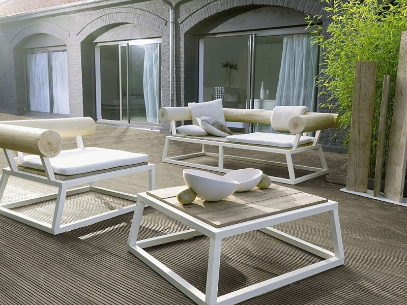 quel mobilier de jardin sur une terrasse bois. Black Bedroom Furniture Sets. Home Design Ideas