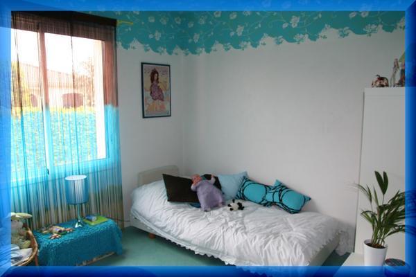 Chambre ado turquoise et gris fille id es de d coration et de mobilier pour la conception de for Chambre turquoise et vert