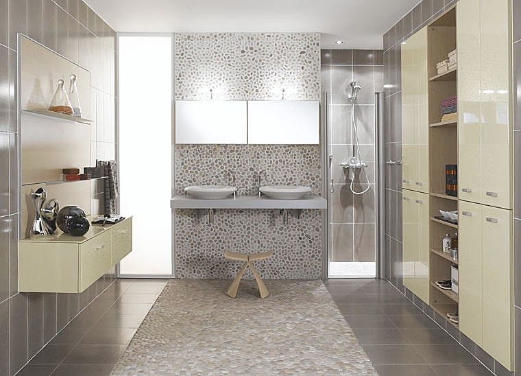 salle de bain mosaique douche italienne ? chaios.com - Photo De Salle De Bain Douche Italienne