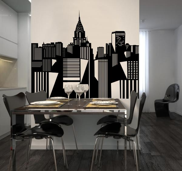 Chambre style new york for Salon new york deco