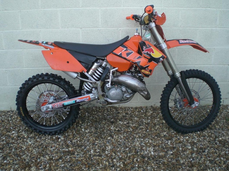 ktm 125 motocross bike for sale. Black Bedroom Furniture Sets. Home Design Ideas