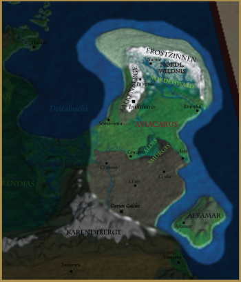 Karte des Aviacarus
