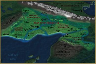 Karte des Kaiserreichs