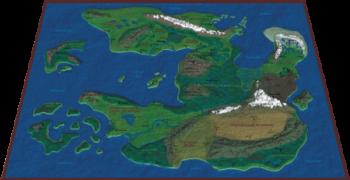 Karte Tiranmars