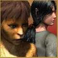 Mraunima und Elf